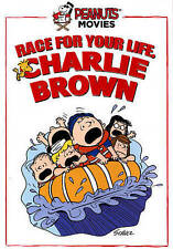 Race for Your Life, Charlie Brown (DVD, 2015, Rated G) Peanuts Animation Movie