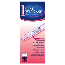 ツ 5 X FIRST RESPONSE PREGNANCY IN STREAM TEST 3 PACK TOTAL 15 TESTS