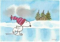 PEANUTS Ice is Nice Snoopy Giclee Print Christmas Limited Edition of 150 MG04