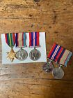 AUSTRALIAN WWII Regular Army CAPTAIN HUSBAND & AWAS SGT WIFE MEDAL GROUPS
