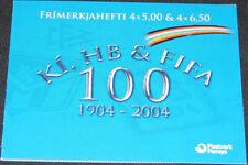 Faroe Islands 2004 Fifa Football, Germany & Local Teams Complete Booklet Mnh/Unm