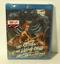 Return of the Living Dead (Blu-ray Disc, 2015, Canadian) NEW & FACTORY SEALED