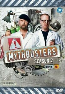 Mythbusters : Season 2 (DVD, 2010, 7-Disc Set) - Region 4