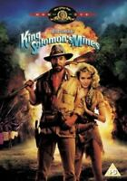 King SOLOMON'S MINES Richard Chamberlain Sharon Stone Mgm UK Región 2 DVD Nuevo