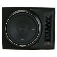 """Rockford Fosgate P2-1X12 12"""" 800W Subwoofer Loaded Vented Enclosure Sub NEW"""