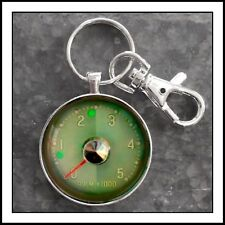Vintage 1958 Ford Edsel Tachometer Photo Keychain Fathers Day Gift