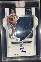 BOL BOL /199 ROOKIE AUTO SILHOUETTES JERSEY PATCH RPA RC SP 2019-20 CROWN ROYALE