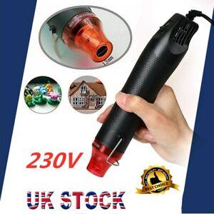 300W Mini Heat Gun DIY Electric Nozzles Tool Hot Air Gun Embossing Drying Paint
