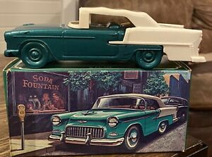 Vintage Avon '55 Chevy Wild Country After Shave Decanter W/ Original Box. Mint!!