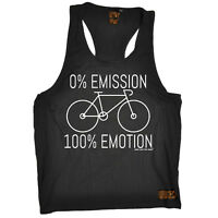 0 Emmission 100 Emotion Cycling funny Birthday TANK TOP