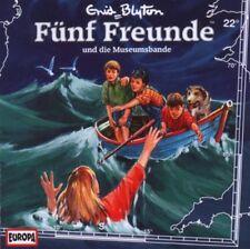 CD * FÜNF FREUNDE - HÖRSPIEL / CD 22 - UND DIE MUSEUMSBANDE # NEU OVP =