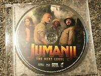 Jumanji The Next Level (Blu Ray, 2020) Jewel Case Only