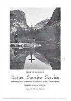 Official Program from the 32nd Annual Easter Sunrise Service Mar 29, 1964!