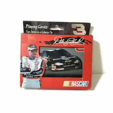 Dale Earnhardt Sr. NASCAR #3 Two Decks of Playing Cards in a Collector Tin