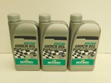14,50€/l Motorex Racing Shock Oil 3 x 1 L Dämpferöl Stoßdämpferöl