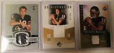 2005 NFL Upper Deck Kyle Orton Jersey Cards Lot of 3 - FL-KO/ RF-KO/ SB-KO