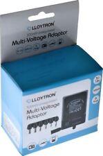 UNIVERSAL MAINS AC DC ADAPTOR UK PLUG 3V 4.5V 6V 7.5V 9V 12V