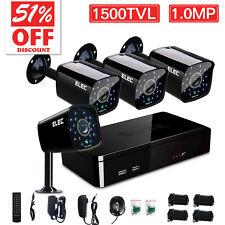 ELEC® 4 Channel 960H DVR 1500TVL Outdoor IR Home CCTV Security Camera System Kit