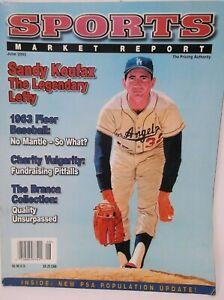 Sports Market Report June 2003 SANDY KOUFAX THE LEGENDARY LEFTY