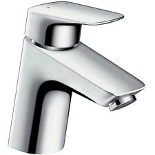 Hansgrohe Logis Square 100 Single Lever Basin Mixer Tap 71101000