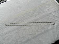 Grand sautoir chaine montre à gousset Napoléon III argent massif bijou ancien