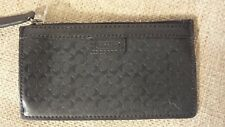 Men's Coach HPC Envelope Keycase with FOB in Black