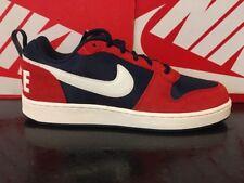 2Q Tribunal de Nike Borough Bajo Premium Zapatillas Para Hombre y Chicos UK 6 EU 40 US7 844881-401
