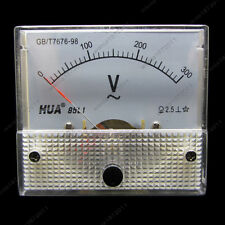 AC 300V Analog Voltmeter Panel Pointer Volt Voltage Meter Gauge 85L1 0-300V AC