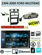 1994-2000 FORD MUSTANG DVD TOUCHSCREEN BLUETOOTH USB AUX STEREO KIT