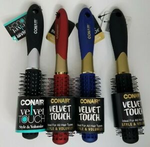 Conair Velvet Touch Volumizing Round Hair Brush #77202Z