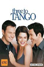Three To Tango-DVD LIKE NEW FREE POSTAGE ALL OVER AUSTRALIA REGION 4