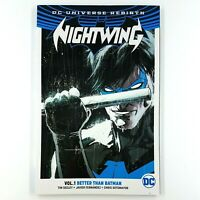 NIGHTWING Volume 1: Better Than Batman  (TPB, 2017) Tim Seeley REBIRTH  NEW