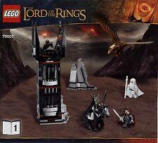 Lego The Hobbit ... # 79007 Battle at the Black...- Bauanleitung (keine Steine!)