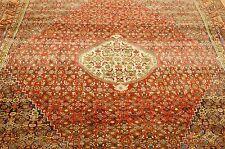 c1920s Antique Fine Colorful Bijar 6.8x9.5 Classic Village Woven Beauty