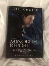 Minority Report Dvd Widescreen Tom Cruise Repackaged