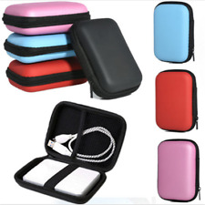 Black Carry Case Pouch Protect Bag for USB External HDD Hard Disk Drive