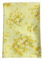 Vintage Pacific Miracale Standard Size Pillowcase Yellow Floral Daisy Flowers