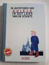 kuifje,tin tin,in het land van de sovjets,gekleurde versie,luxe hc,linnen rug