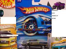 HOT WHEELS 2005 FE #18 -1 69 PONTIAC GTO BLAK 5SP MAL 06C