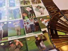 PGA Golf Cards ~ The Masters Collection, Upper Deck John Daly, Fred Couples