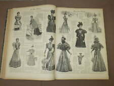 Reliure LA MODE PRATIQUE illustree ANNEE / YEAR 1897 Complete FULL + Supplements