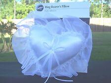 BRAND NEW WILTON HEART SHAPE RING BEARER'S PILLOW