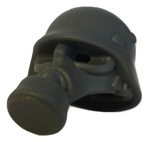 Germany Gas Mask with helmet for Lego Minifigures accessories
