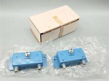 2 Nos Microwave Filter Company Inc 3329 38 Cable Headend Bandsplitter Combiner