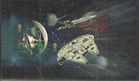 Individual Panes from DY15 / DB5(67) Star Wars Royal Mail Prestige Booklet