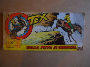 Striscia TEX n°7 1967 Serie Cobra Edizioni ARALDO   [G350]