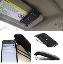 Wireless Bluetooth Handsfree Charger Speakerphone Phones Speaker Car Sun Visor