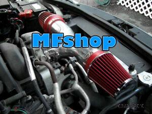 RED Dual For 2004-2010 Dodge Dakota Durango 3.7L 4.7L V8 Twin Air Intake