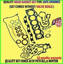 FOR LEXUS IS200 TOYOTA ALTEZZA 2.0 GXE1 99-05 1GFE 24V 6CYL HEAD GASKET SET