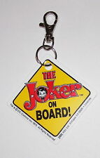 Porte cles Batman porte cles officiel Joker on Board street sign keychain
